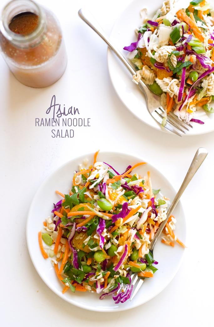 Asian Ramen Noodle Salad
