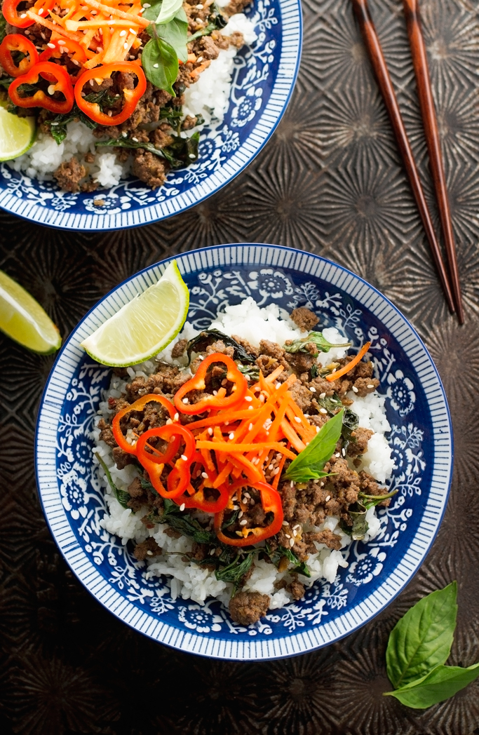 Quick and Easy Thai Basil Beef