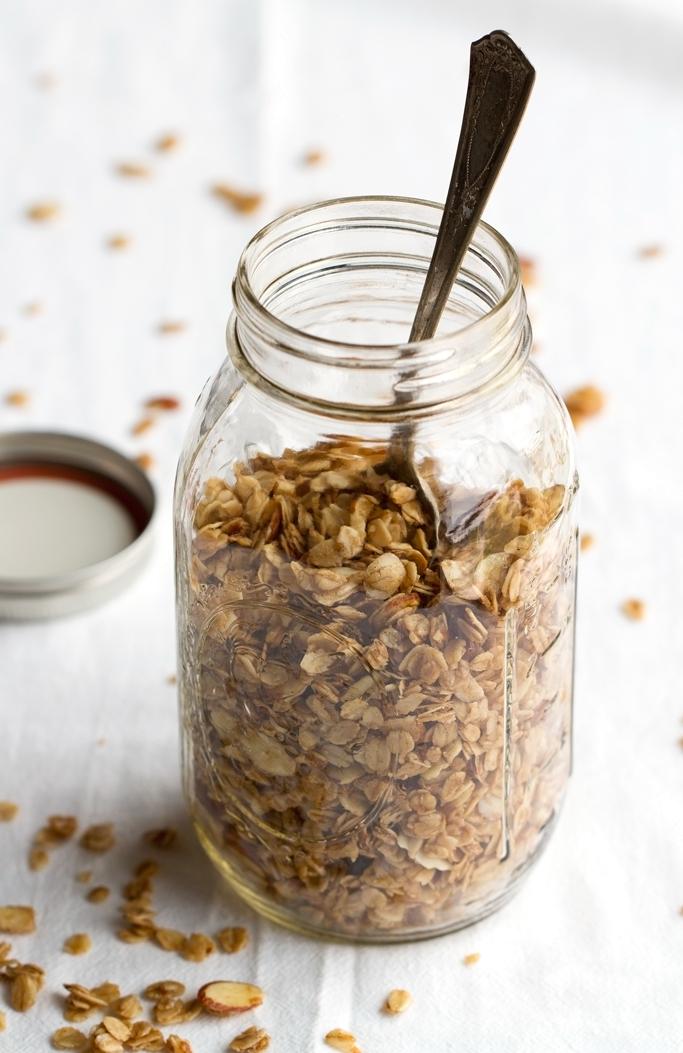 Honey Almond Coconut Oil Granola