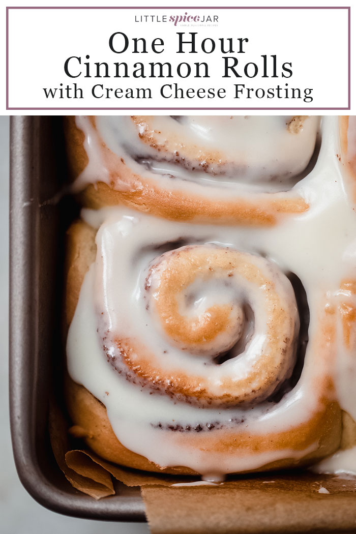image of cinnamon roll for Pinterest