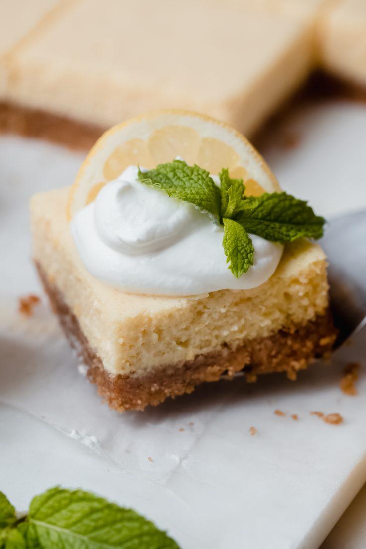 Pucker-up Creamy Lemon Squares