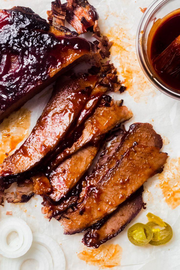 Slow Cooker BBQ Beef Brisket