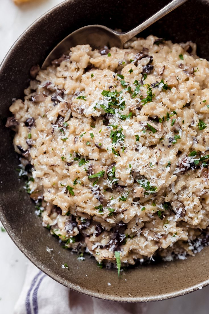 Easiest Weeknight Instant Pot Risotto