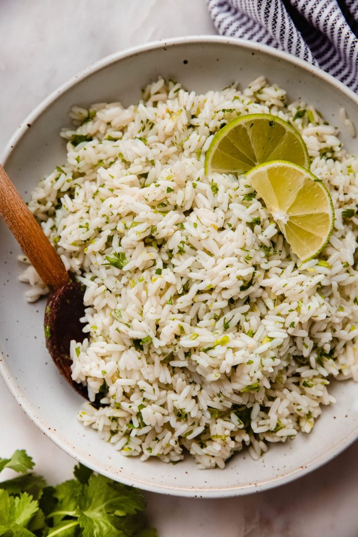 Better Than Chipotle Cilantro Lime Rice