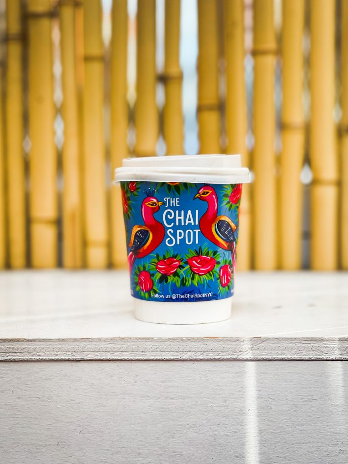 cup of chai from the chai spot