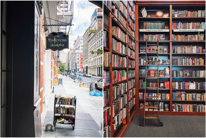 visiting the Mysterious Bookshop